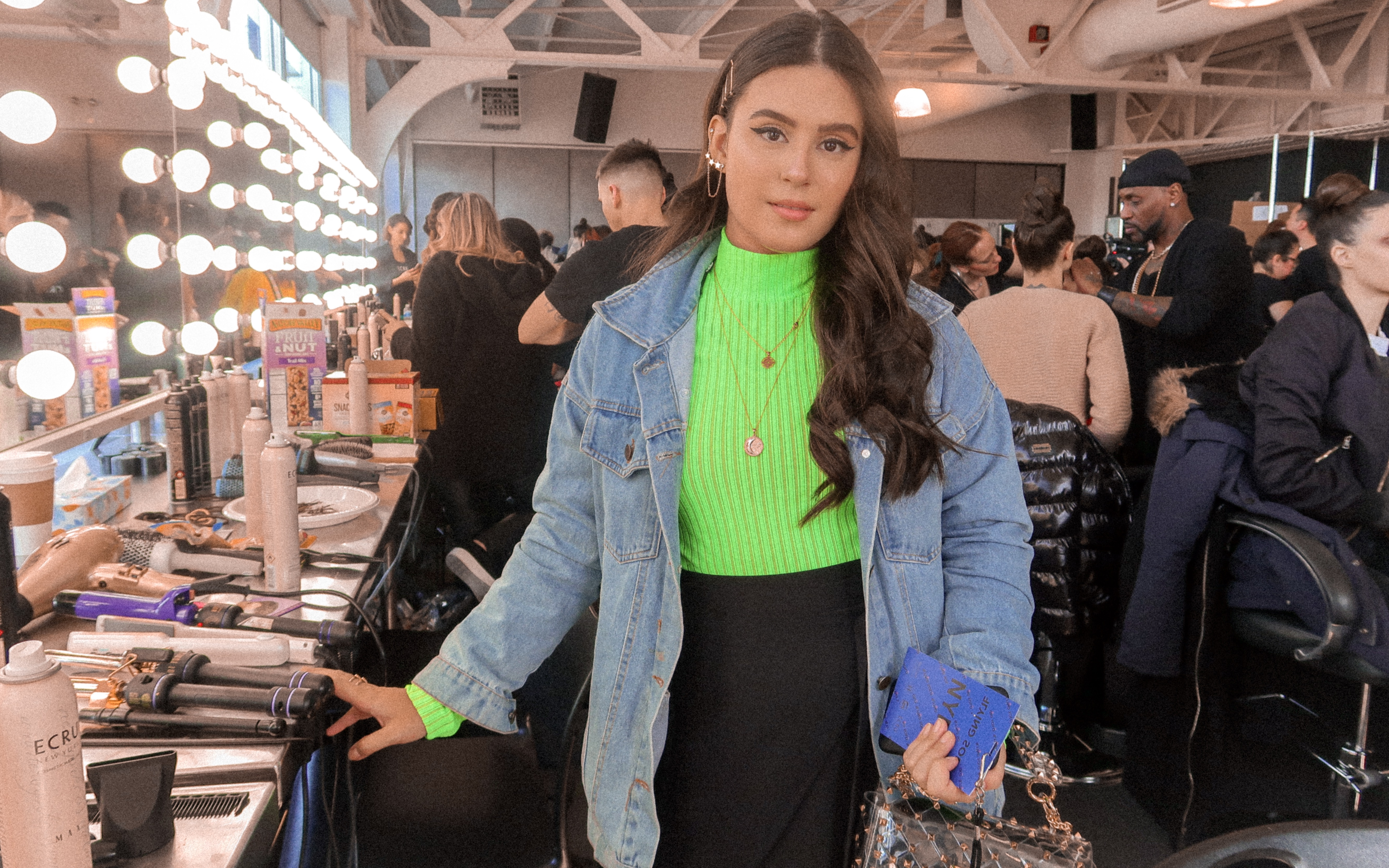 NYFW: Flying Solo Show/Backstage